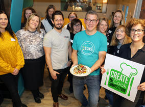 CREATE AND COOK COMPETITION LAUNCHES IN SHROPSHIRE