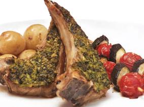 Create and Cook 2010: Lamb Cutlets with Watercress Pesto