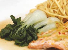 Create and Cook 2010: Fragranced Trout Parcels with Sesame Noodles