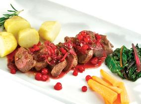 Create and Cook 2012 recipes - Wild South Downs Venison with Redcurrant Jus