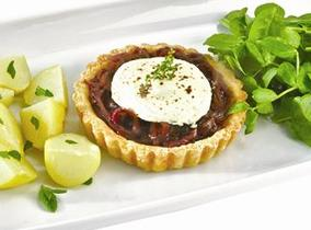 Create and Cook 2012 recipes - Rosary and Red Onion Tart