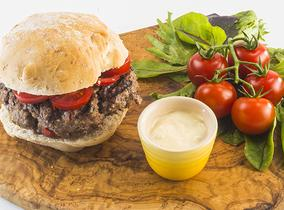 2014 Create & Cook finalists recipes - Keely's Three Harbours Beef burger