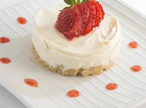 2014 Create & Cook winners recipes - Alice's Strawberry Cheesecakes with strawberry coulis