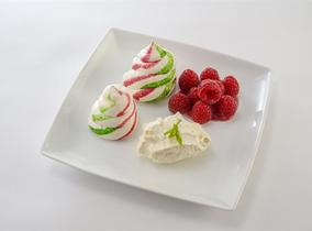 2016 Create & Cook Finalists recipe – Harvey's Brighton Meringues with Raspberries